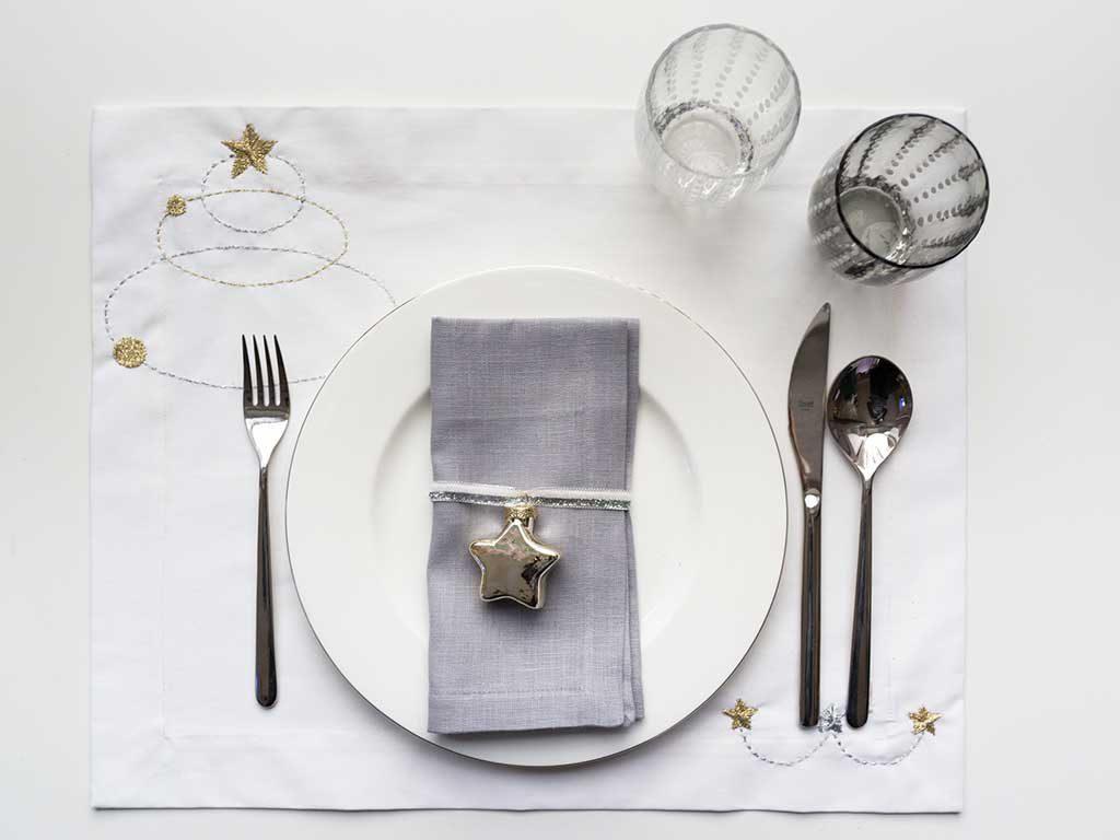 tavola natale informale