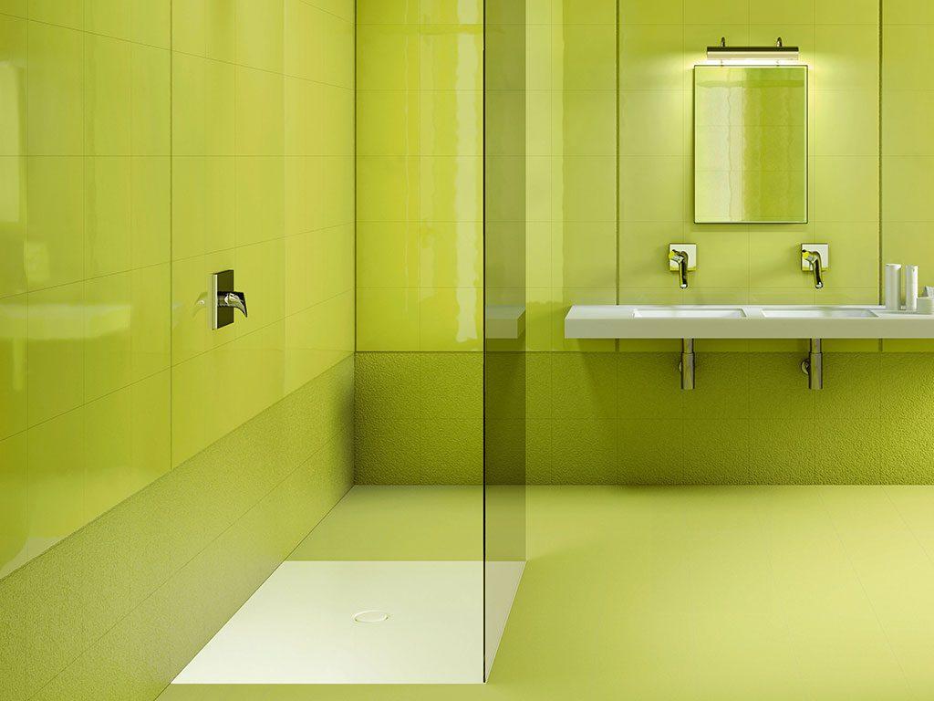bagno verde pantone design 2017