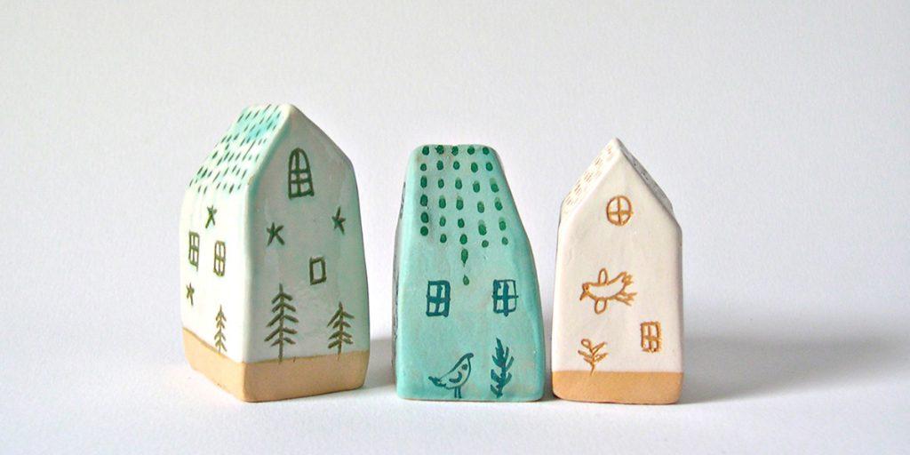 oggetti ceramica casa decorazioni