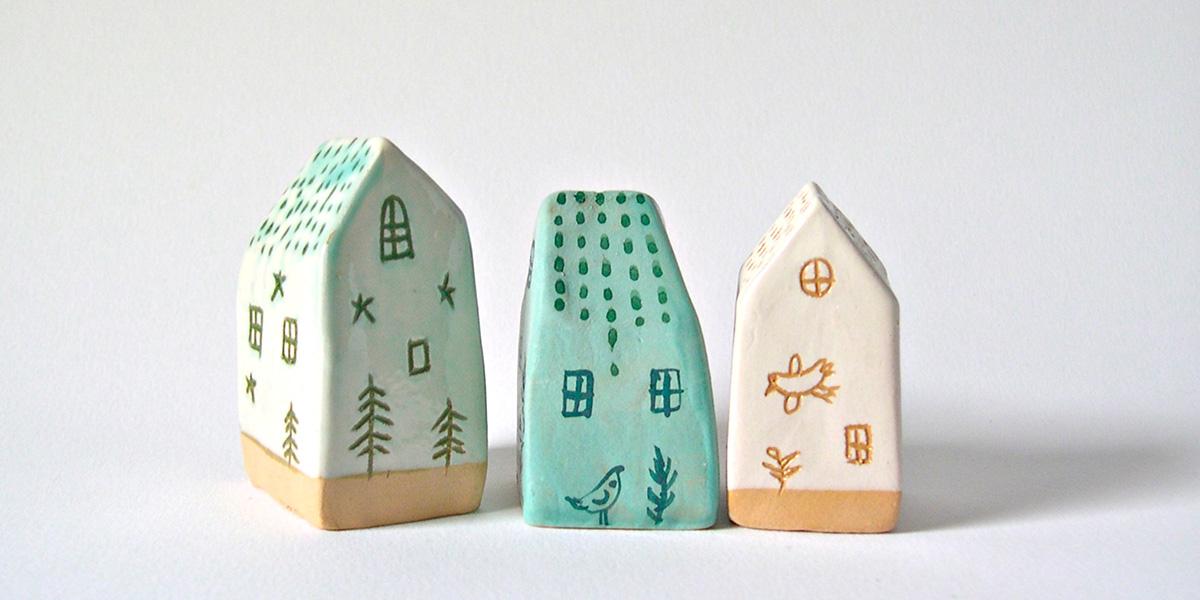 Il paese delle ceramiche di alisanna la casa in ordine for Oggetti d arredo per la casa