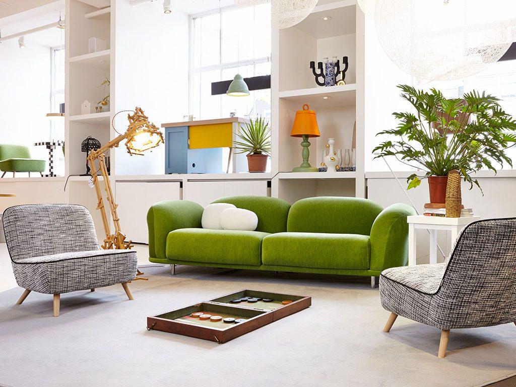divano verde pantone