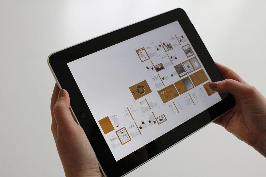 ipad tablet utilizzo in casa sondaggio