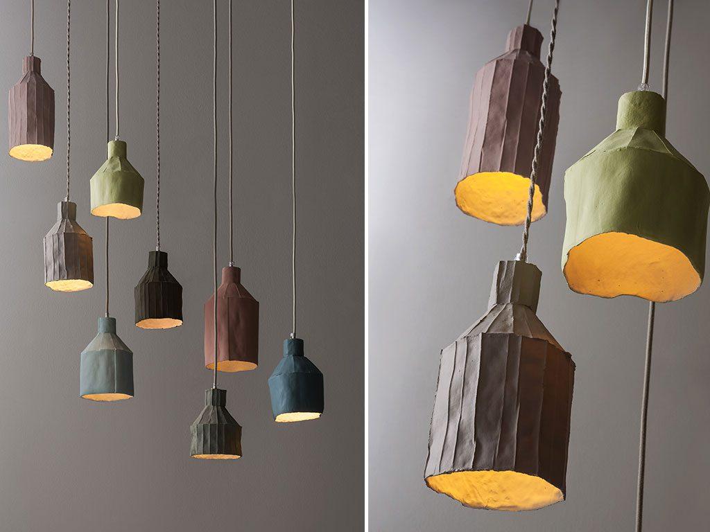 lampada ceramica design