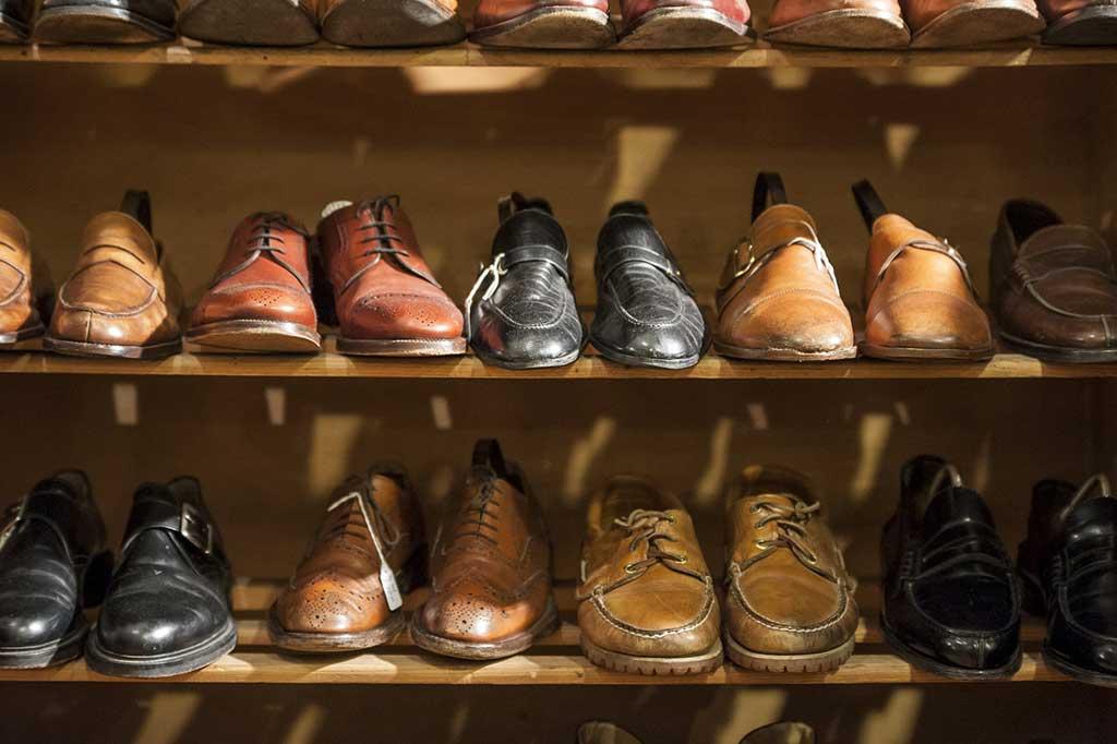 pulizia scarpe casa
