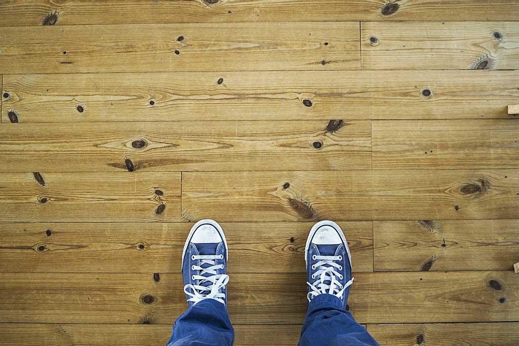 scarpe parquet legno