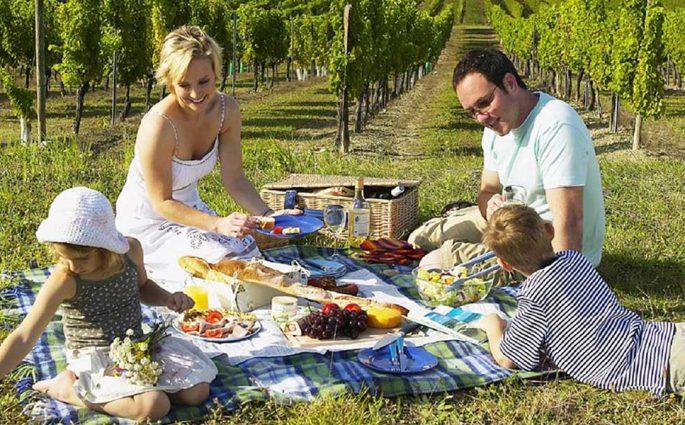 picnic all'aperto
