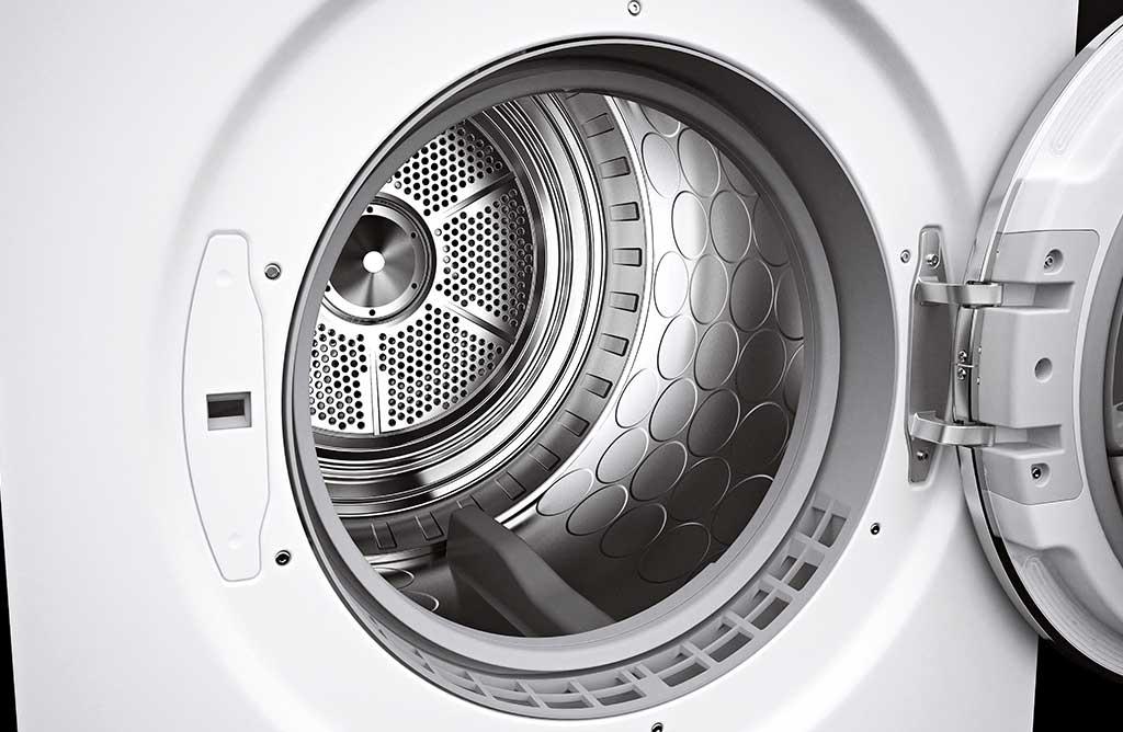 cestello acciaio lavatrice