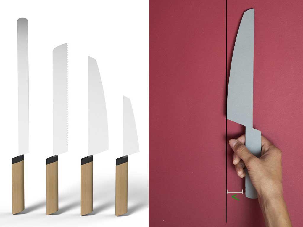 coltelli cucina design
