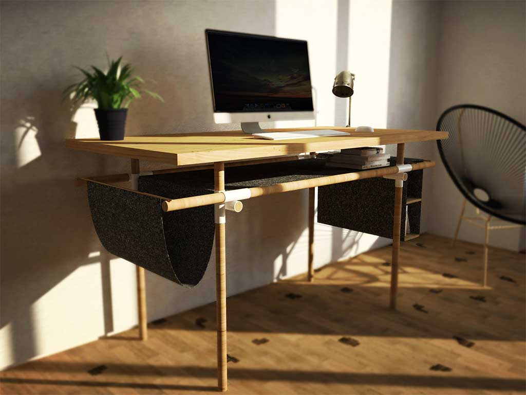 scrivania design brasil fuorisalone 2017