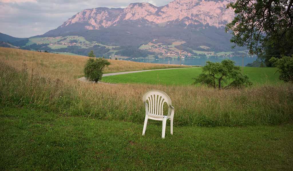 sedia plastica da esterno