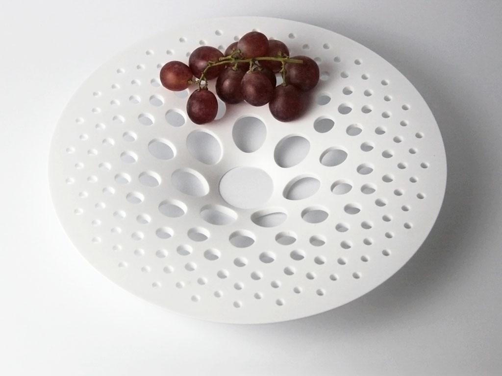 piatto ceramica design casa