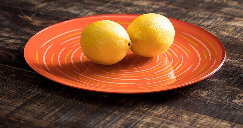 piatto ceramica colore