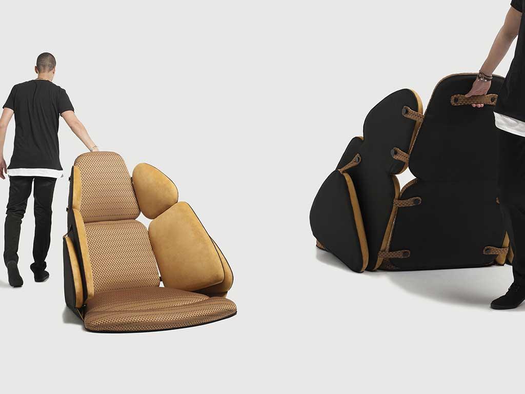 sedia trasportabile design