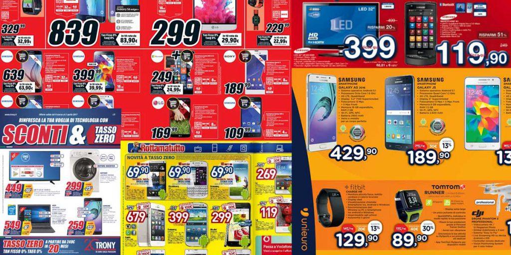 promozioni volantini elettronica
