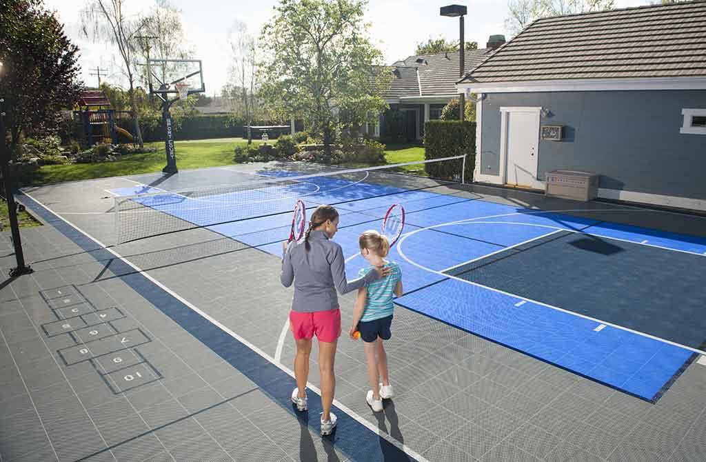 fare campo tennis casa