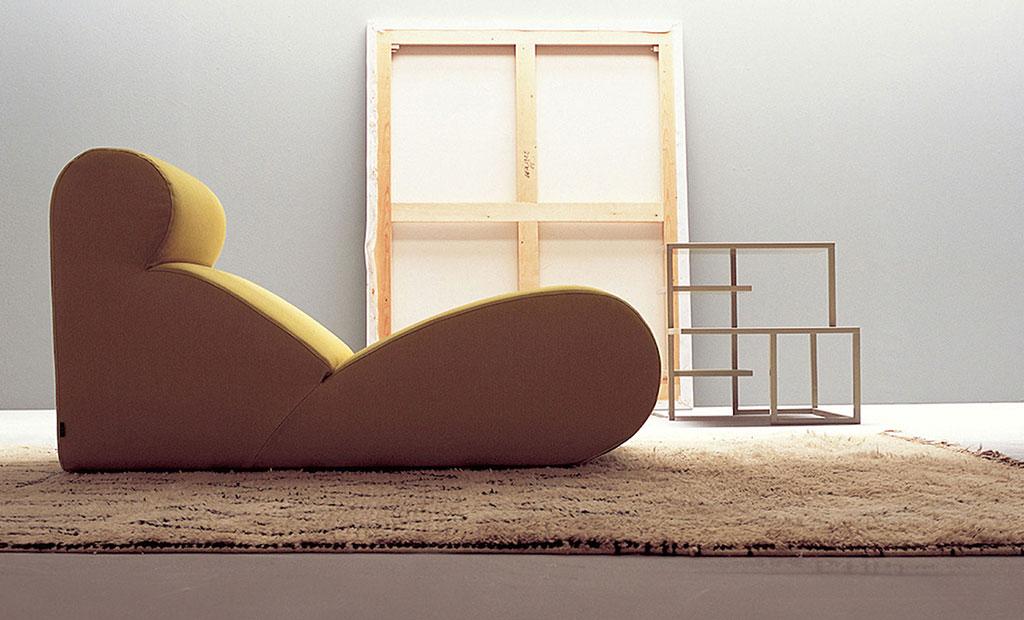 seduta monoblocco boborelax by cini boeri