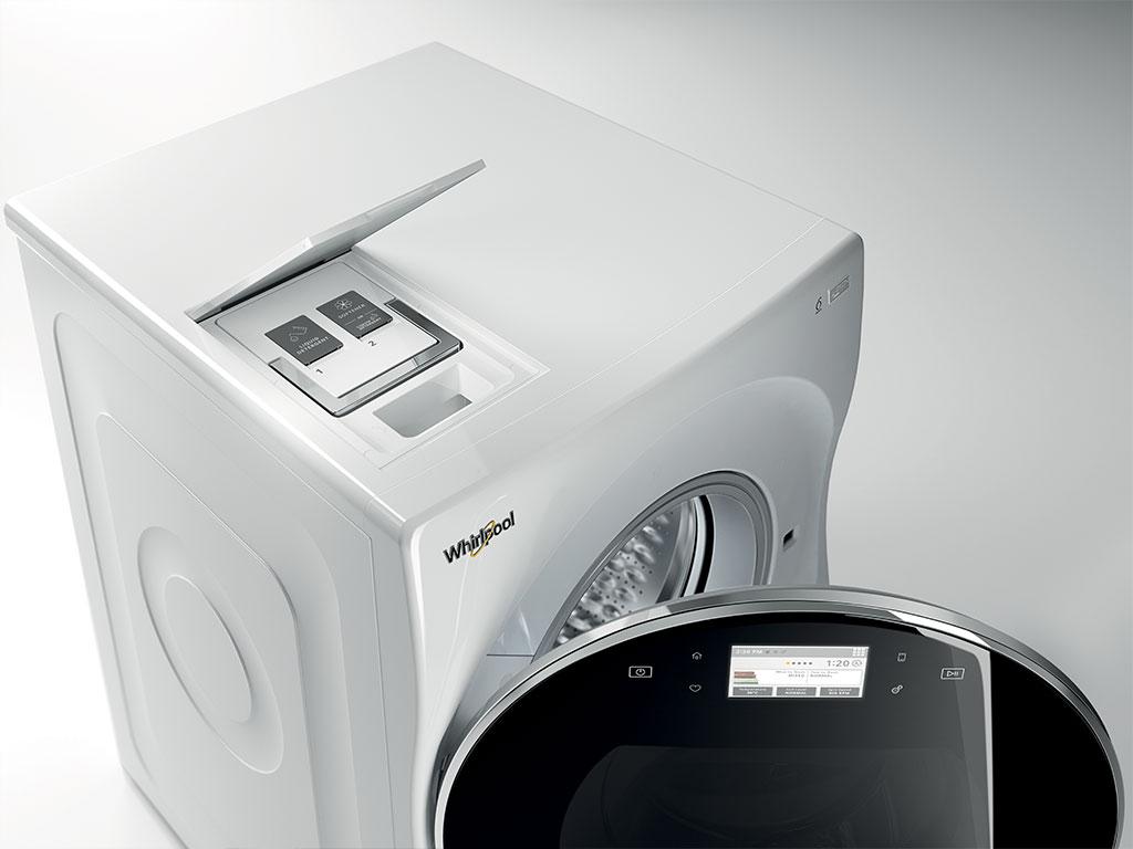 dispenser per il detersivo della lavatrice