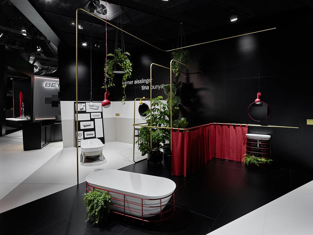 bagno di design con vasca freestanding