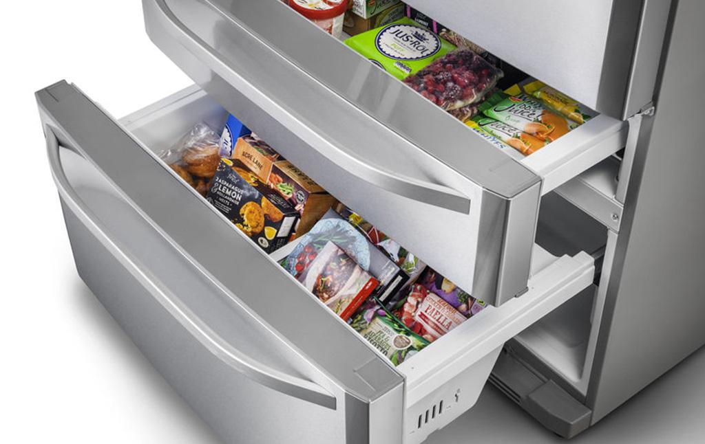 frigorifero a cassetti da incasso