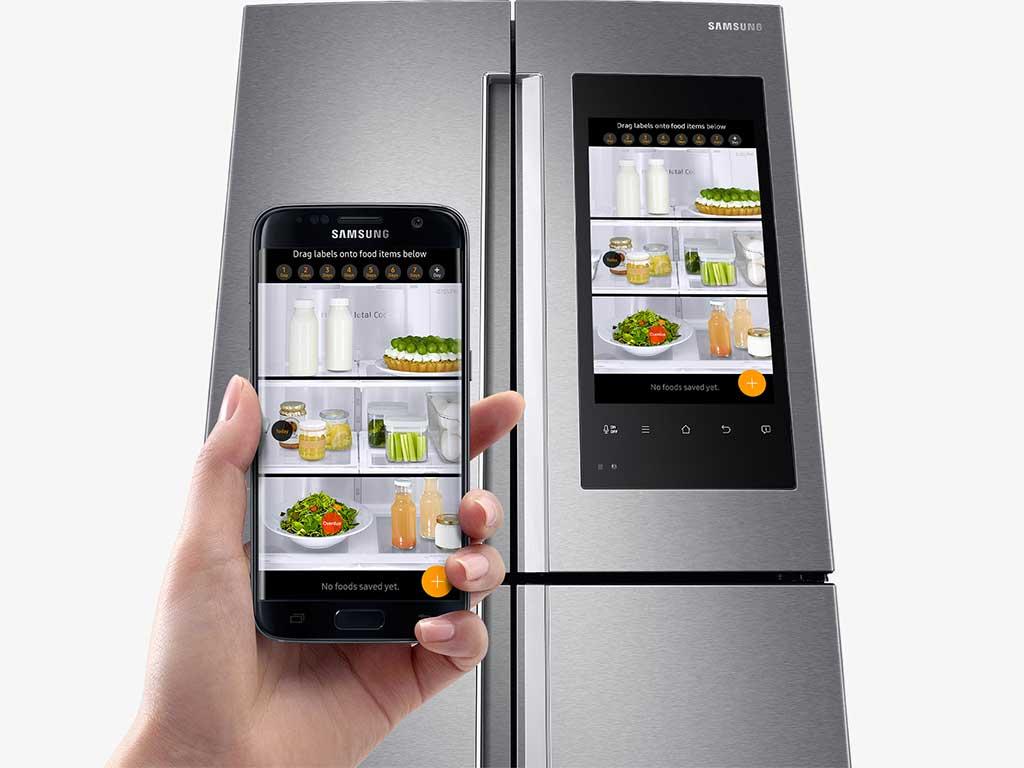frigorifero comandabile da smartphone