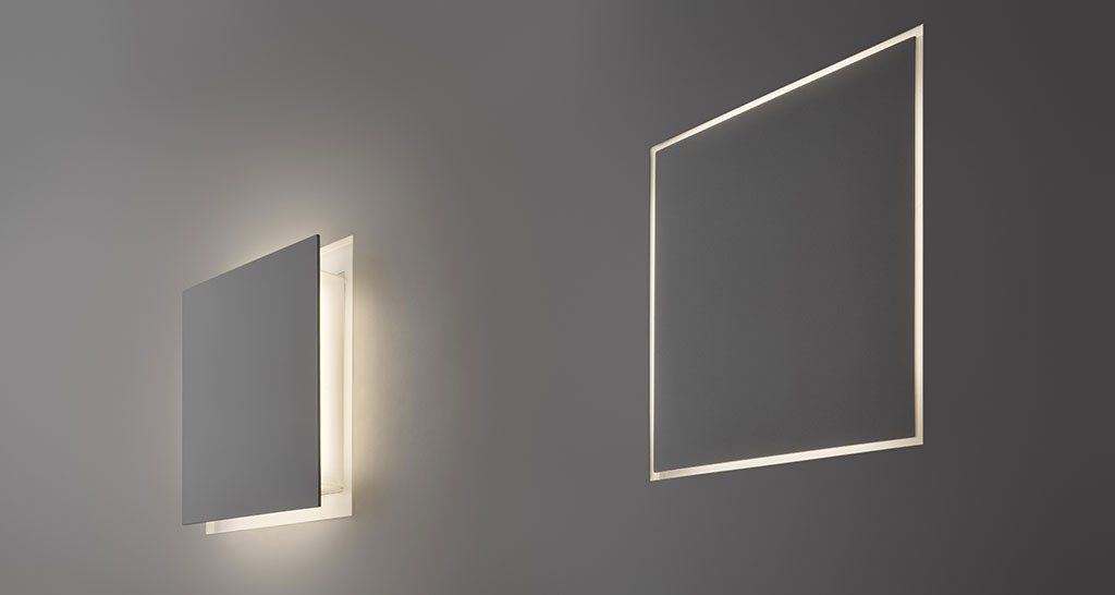 particolare incasso lampada a parete