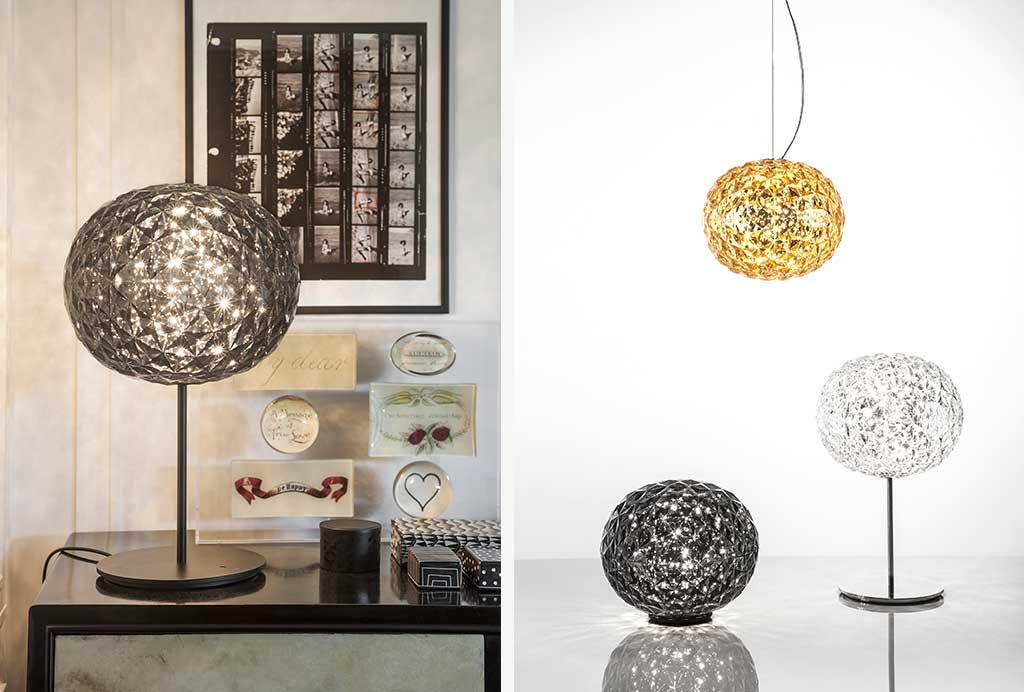 lampade a forma sferica in plastica