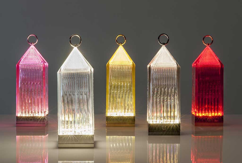 lanterne colorate trasparenti