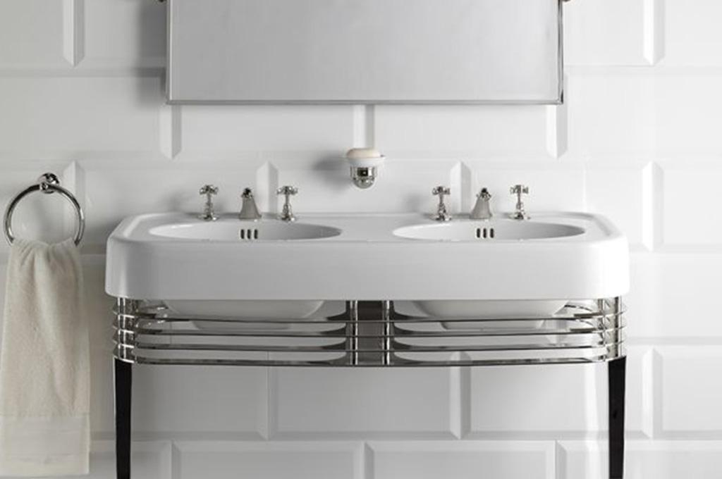 lavabo doppio ceramica