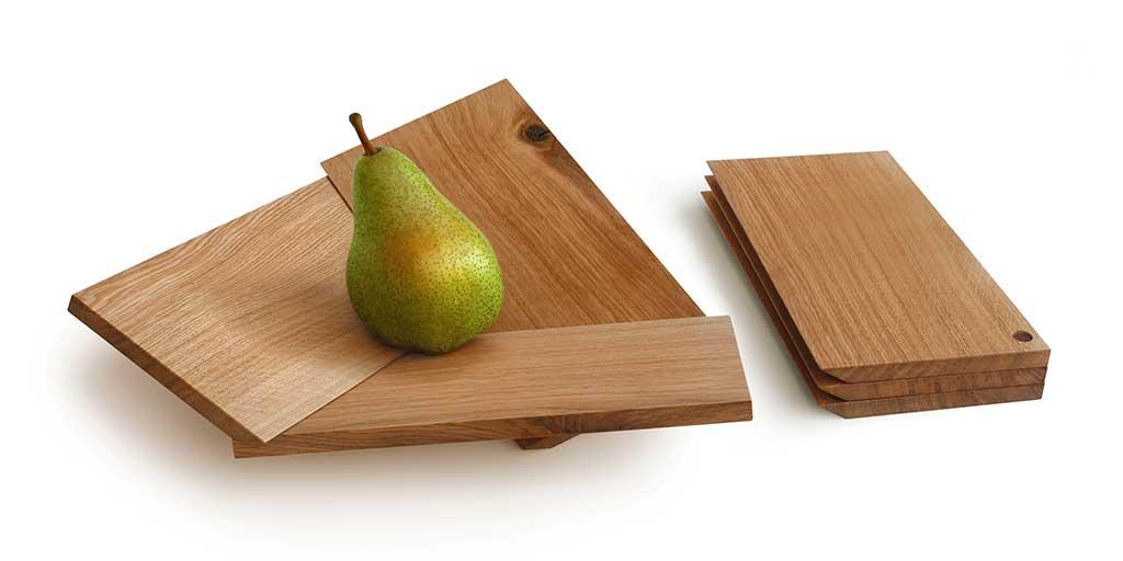 portafrutta legno