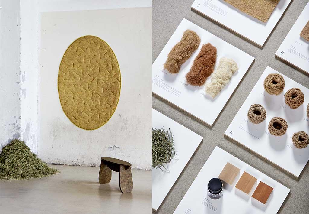 rivestimento pareti con materiali naturali