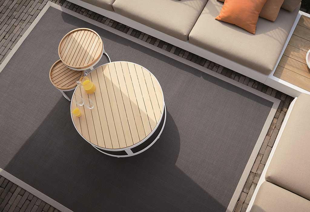 tappeto rettangolare da esterno