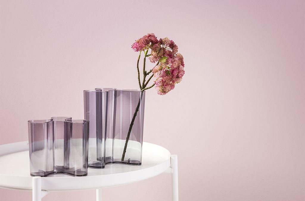 vaso in vetro con fiore