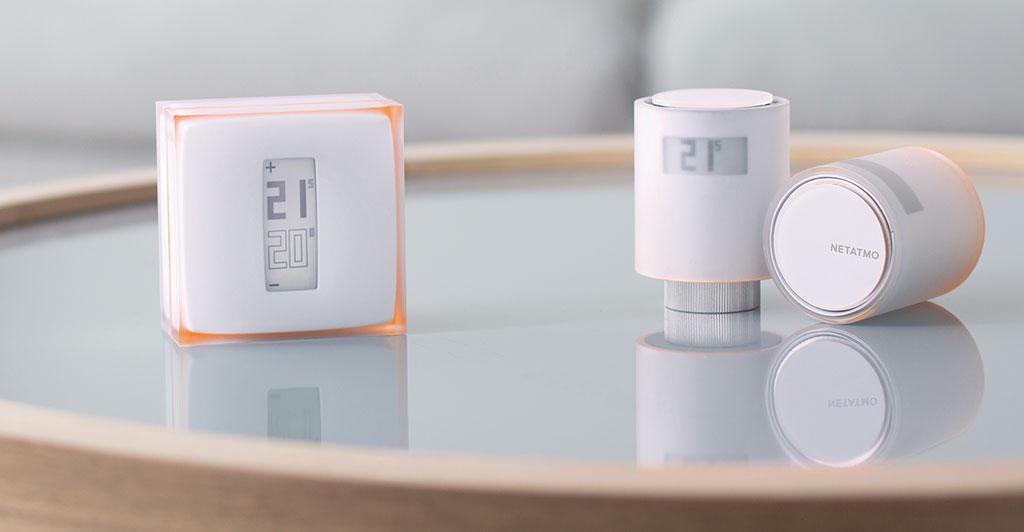 termostato di design per casa