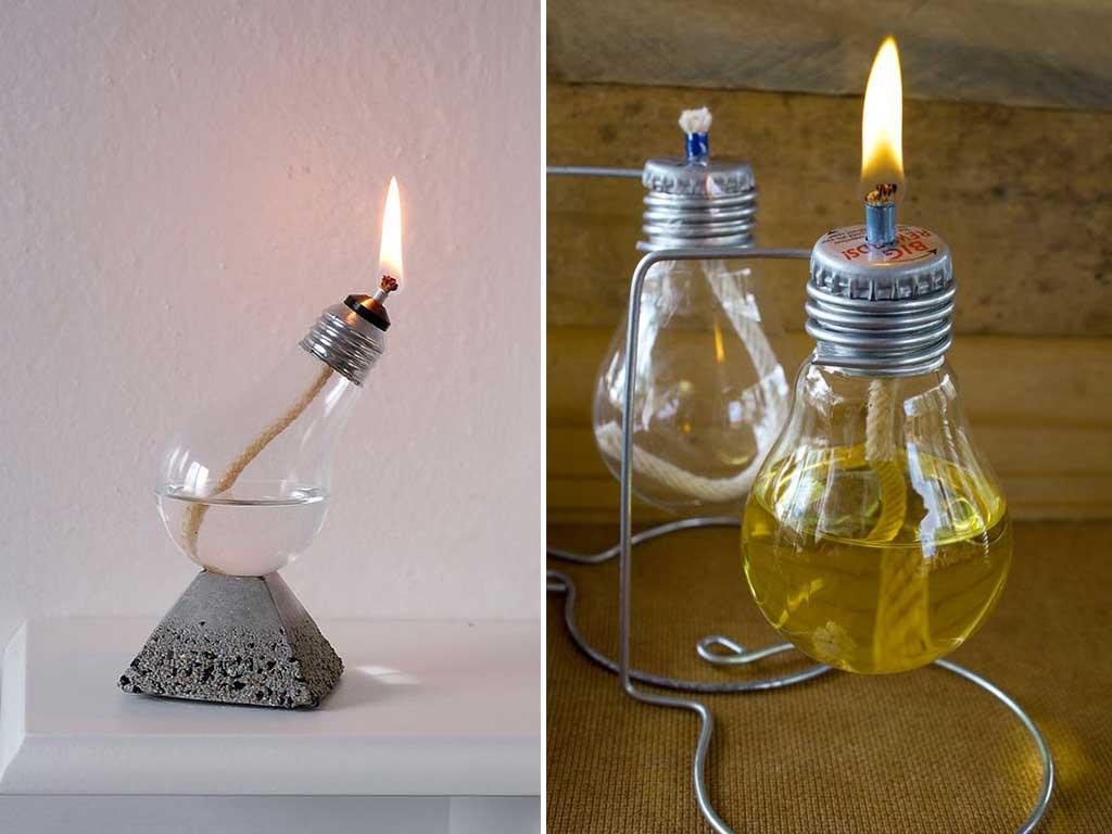 lampadine a olio
