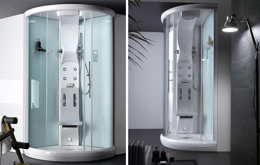 cabina doccia mini spa