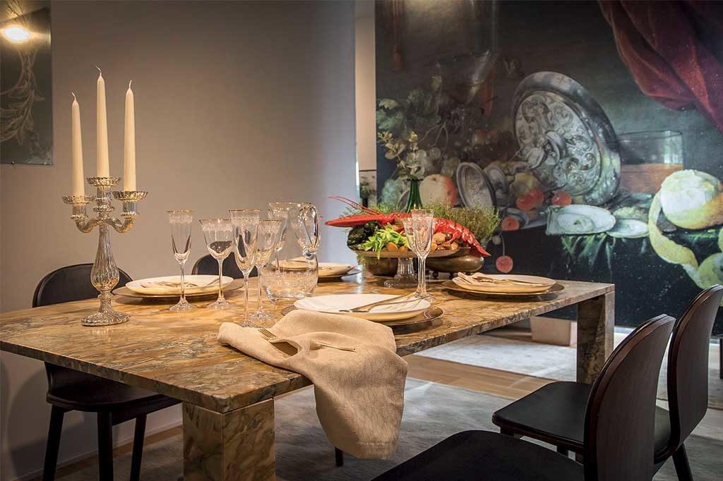 sala da pranzo tavolo