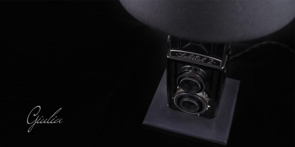 lampada macchinetta fotografica