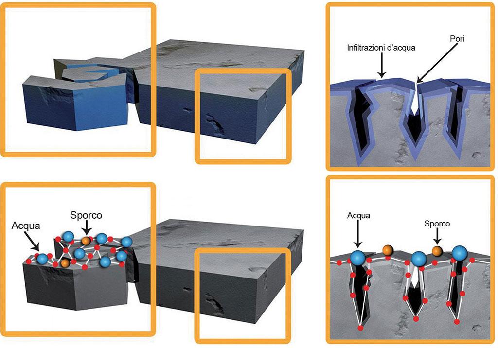 schema nanotecnologia funghi bagno