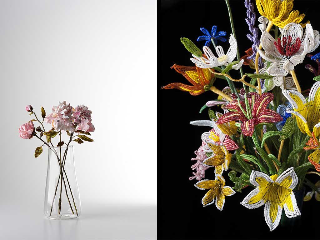 fiori in vetro murano