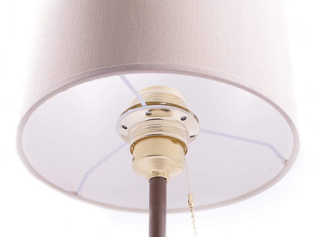 paralume lampada con catenella