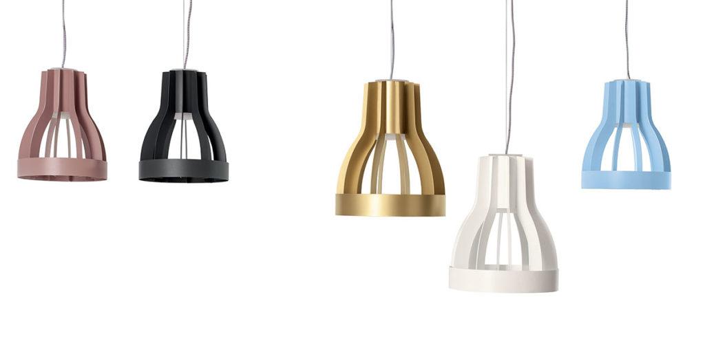lampade sospese colorate