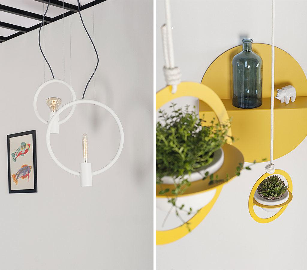 lampade sospensione design alluminio
