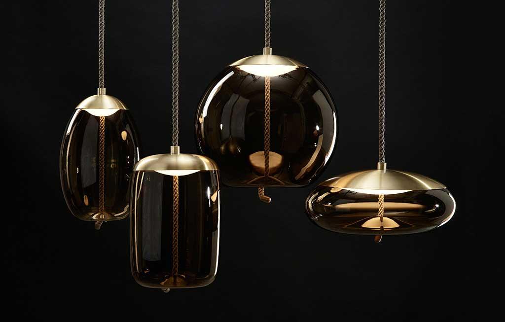 lampade a sospensione vetro murano