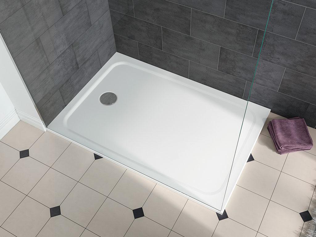 piatto doccia bianco sottile
