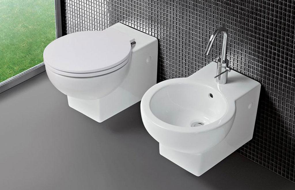wc e bidet per bagno piccolo