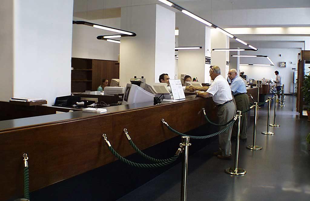 sportelli in banca