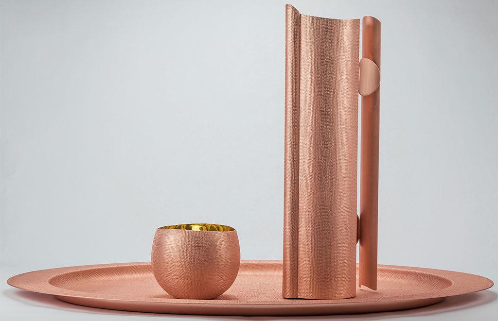 tableware in rame