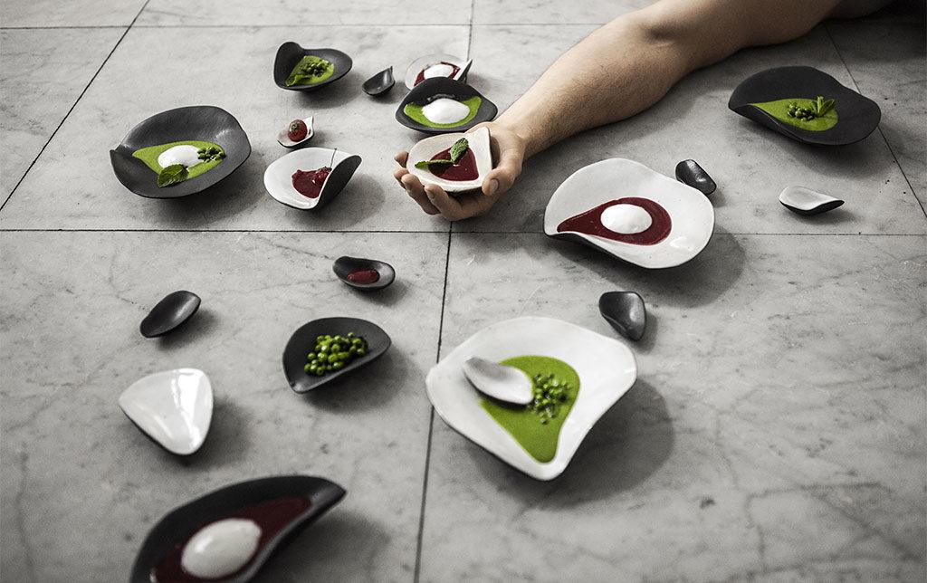 ciotole piatti ceramica fatta a mano