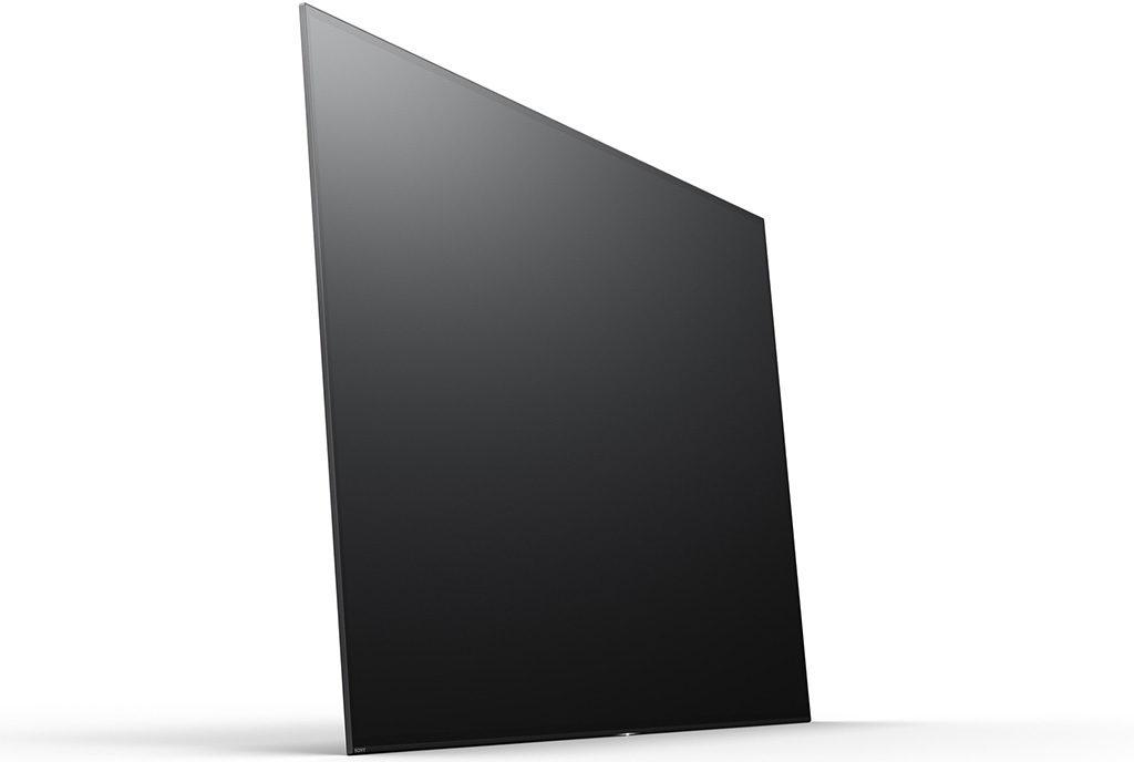 tv schermo piatto nero