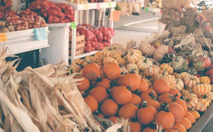 banco frutta verdura mercato